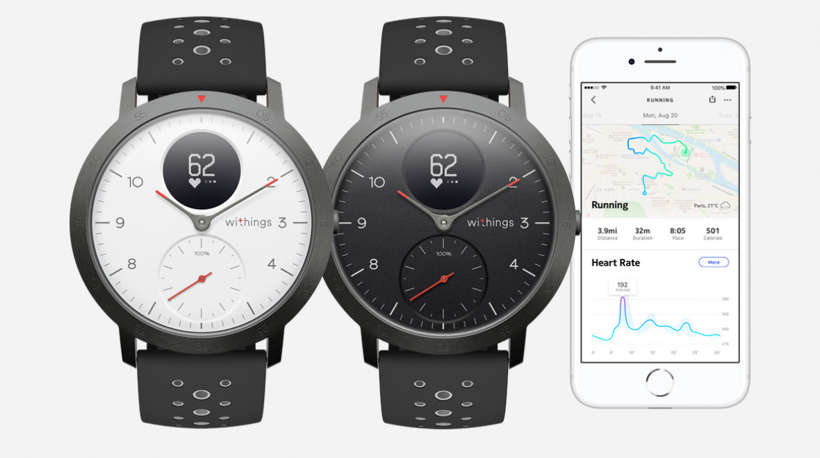 Withings returns with Steel HR Sport