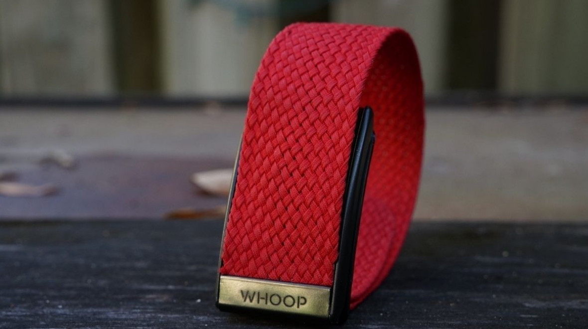Whoop wearable enters health space