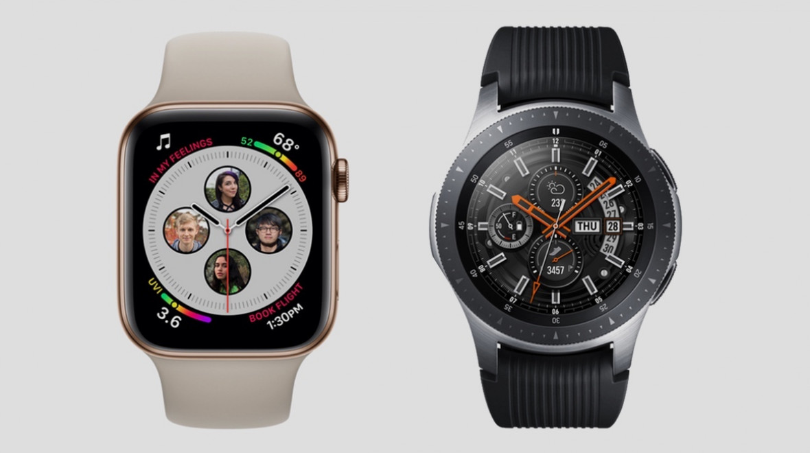 Apple Watch v Galaxy Watch