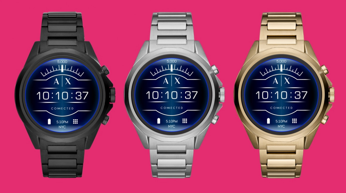 Armani Exchange Wear OS watch unveiled