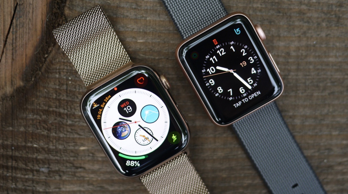Apple Watch Series 4 v Series 3
