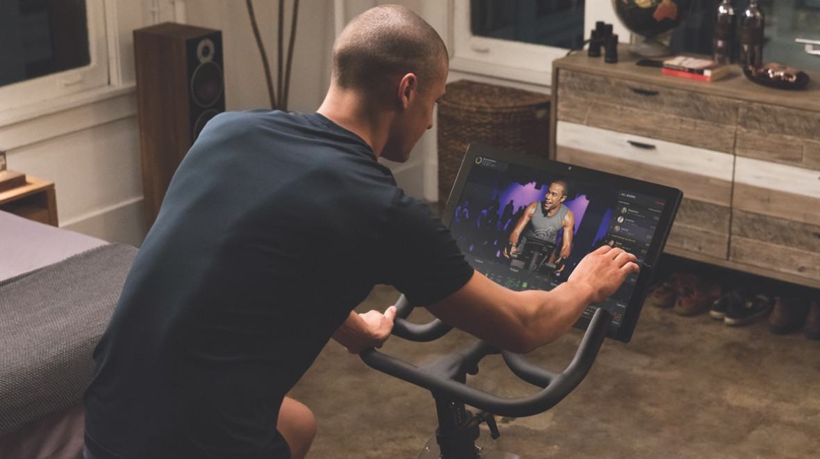 Trying out Peloton's spin classes