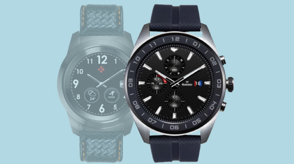 The LG Watch W7 is unconvincing