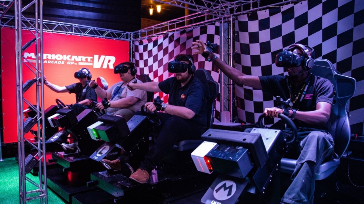 Field of view: Mario Kart VR drifts into the States - but only for a limited time