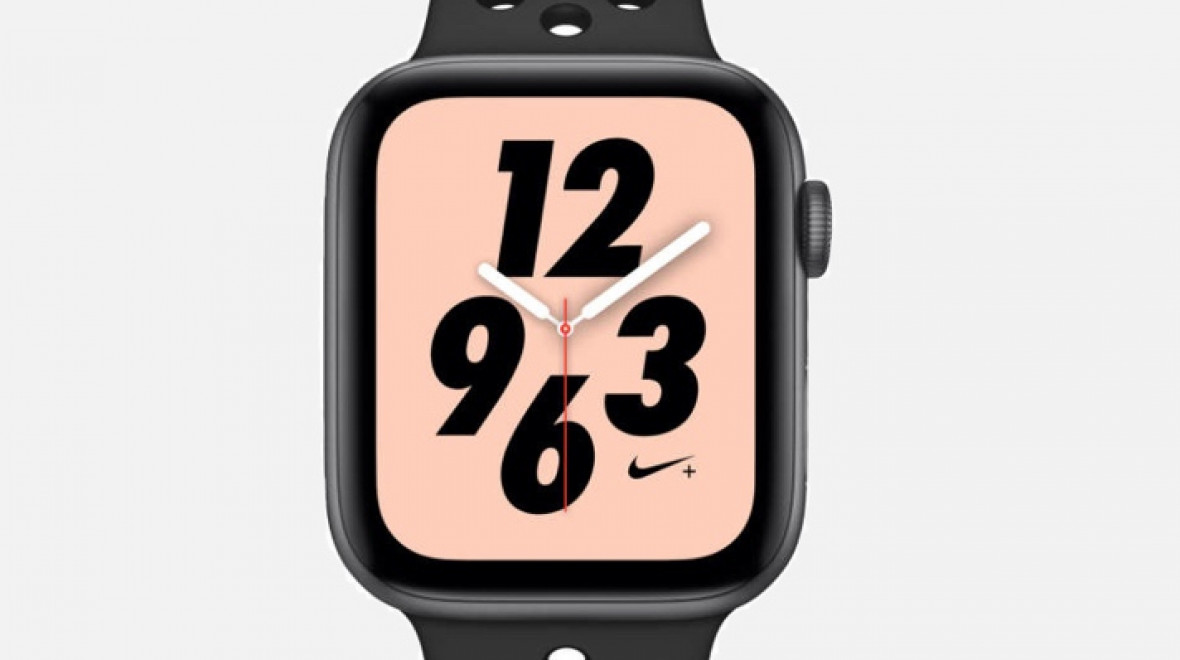 Image result for watch series 4 nike + spotify