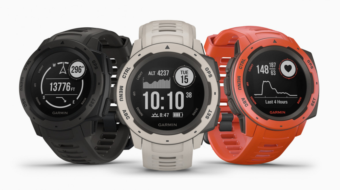 Garmin Instinct outdoor watch unveiled