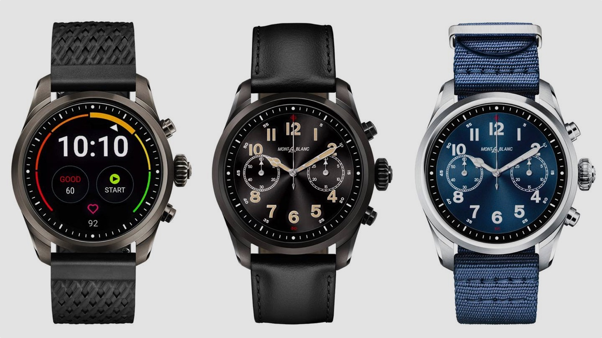 Montblanc Summit 2 is a Wear OS smartwatch for men and women