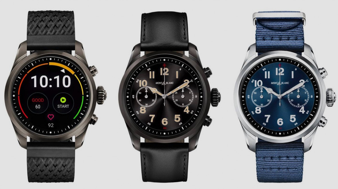 Montblanc Summit 2 Wear watch now on sale