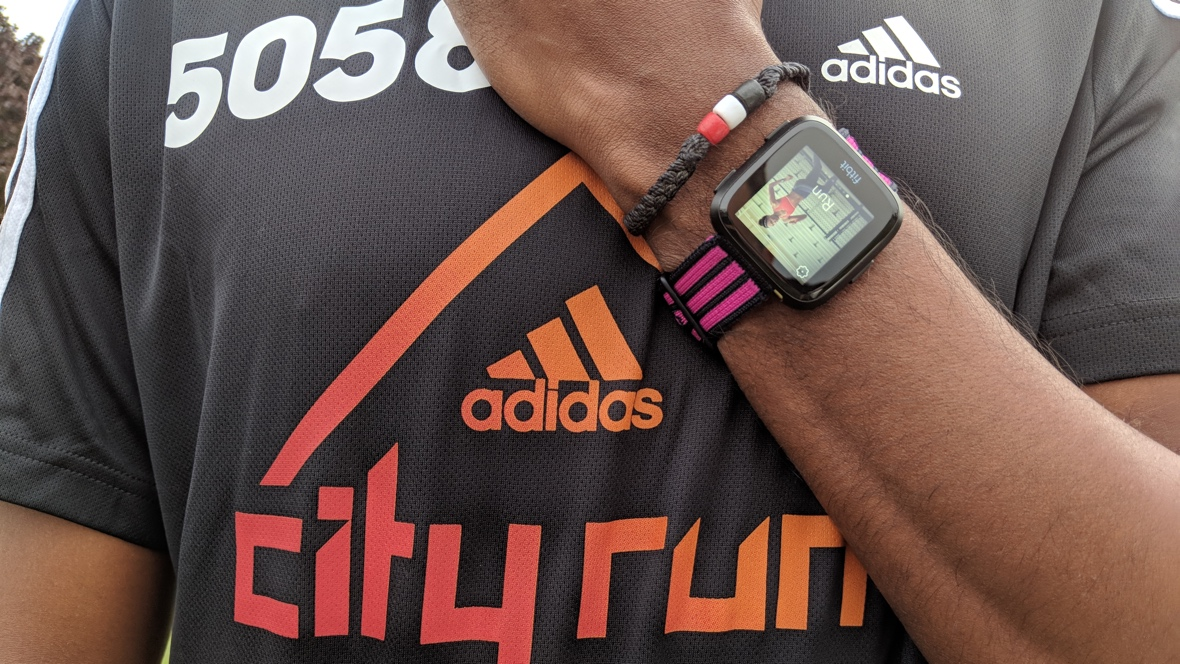We put the Fitbit Versa to the big race test