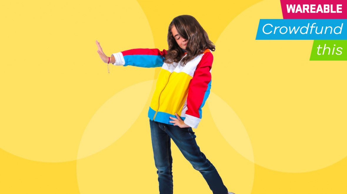 Wiggly is a 'DDR' jacket for kids