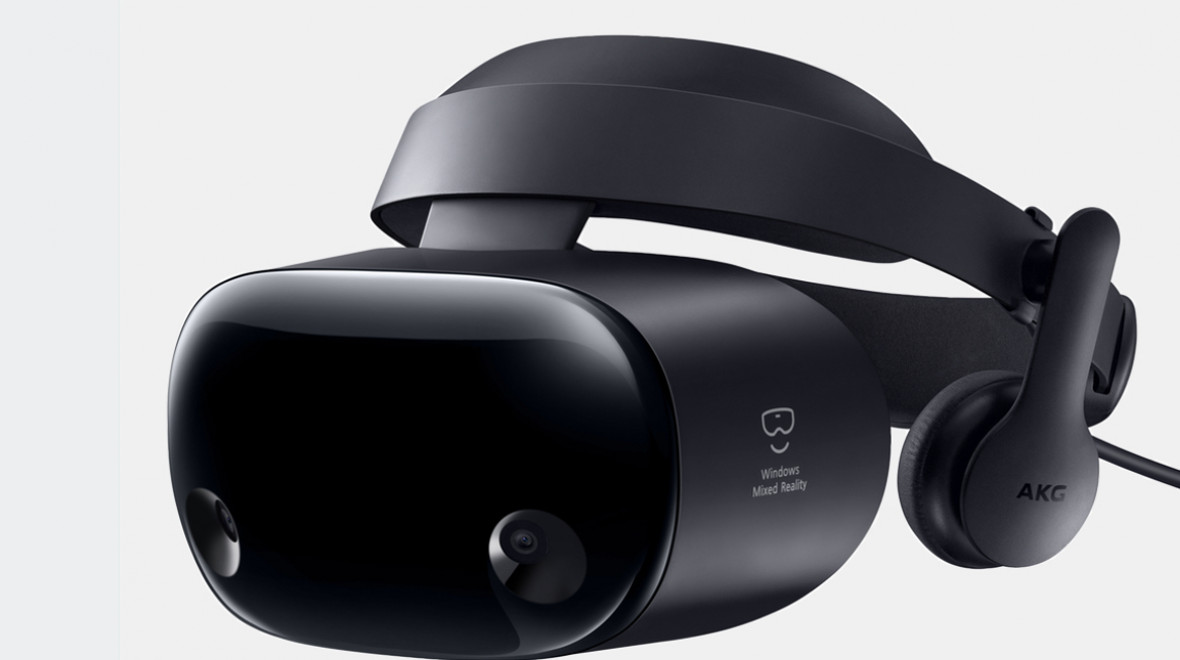 Samsung's new Odyssey+ VR headset battles the screen-door