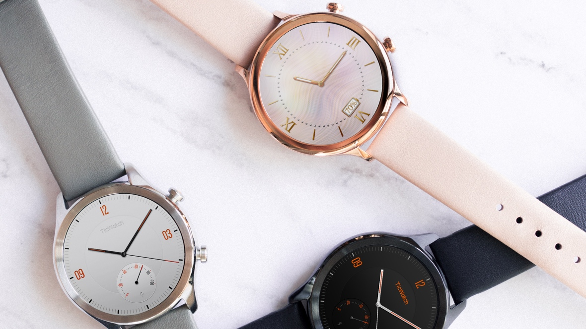 The TicWatch C2 brings a classic edge to Wear OS, complete with NFC and GPS