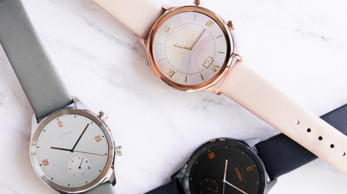 TicWatch C2 adds a classic edge to Wear OS