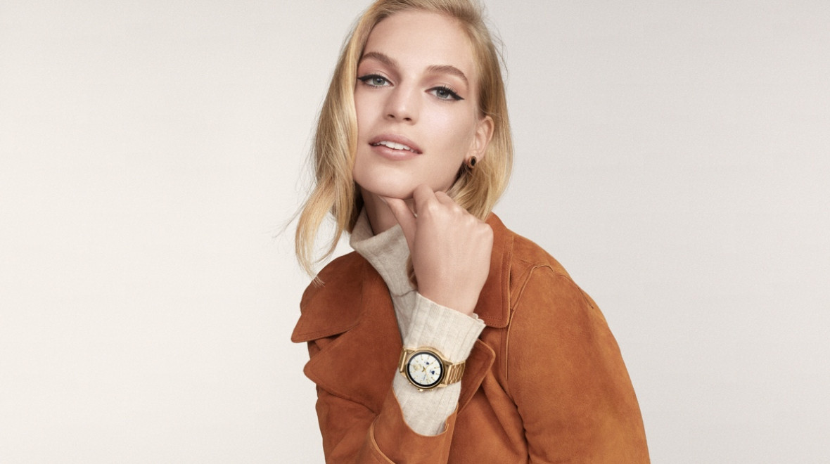 244a8fef868e Tory Burch s ToryTrack Gigi is the designer s first touchscreen smartwatch