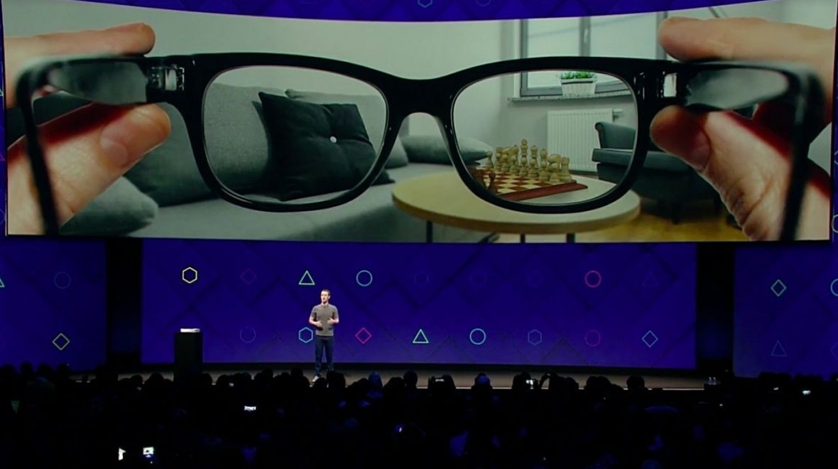 Facebooks says it's building AR glasses