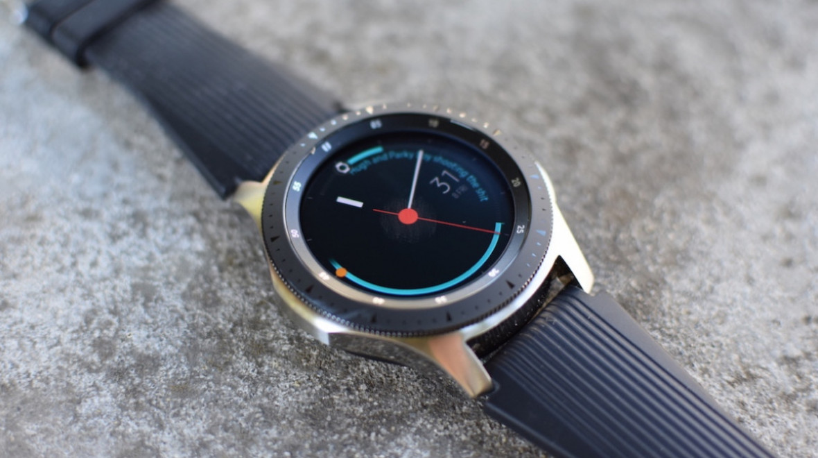 Samsung's next watch may be a hybrid