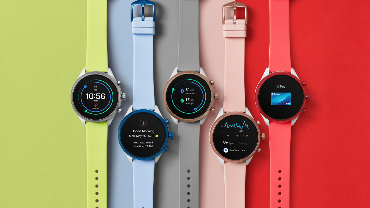 Fossil Sport unveiled with Wear 3100