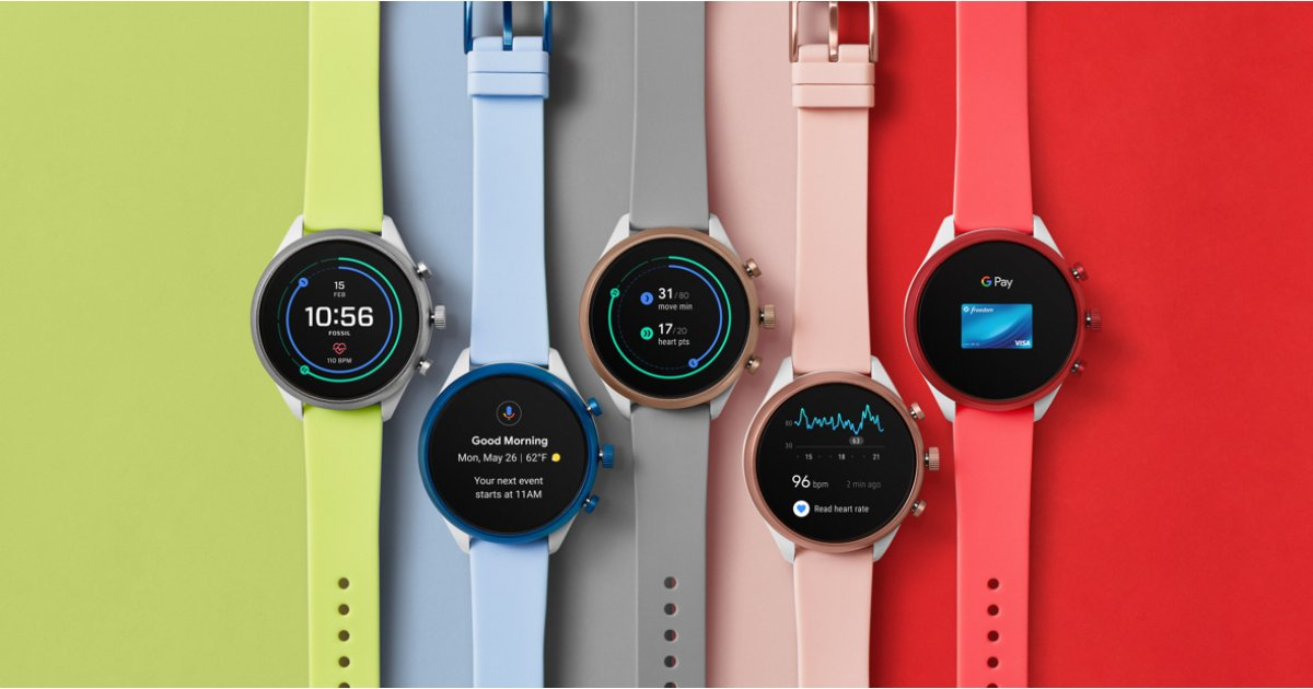 Fossil Sport comes with Snapdragon Wear 3100 to extend battery life