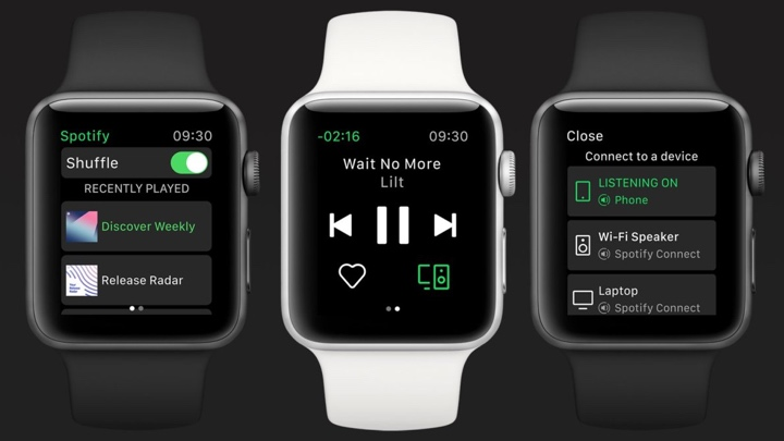 Spotify Apple Watch app now available