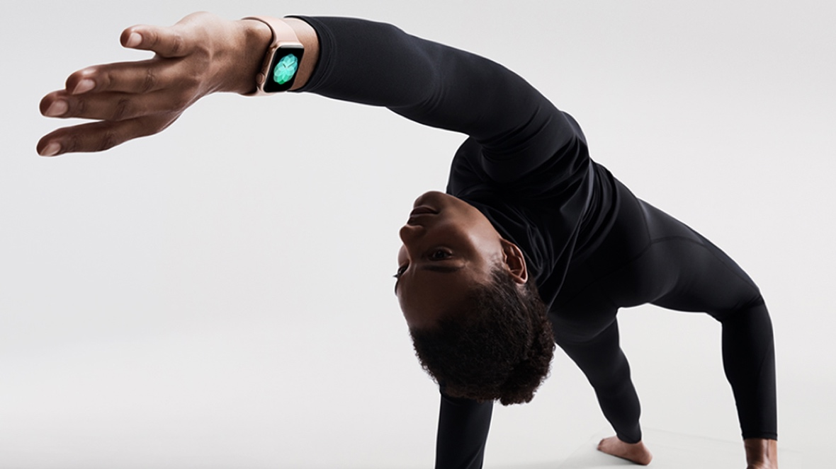 Image result for yoga apple watch