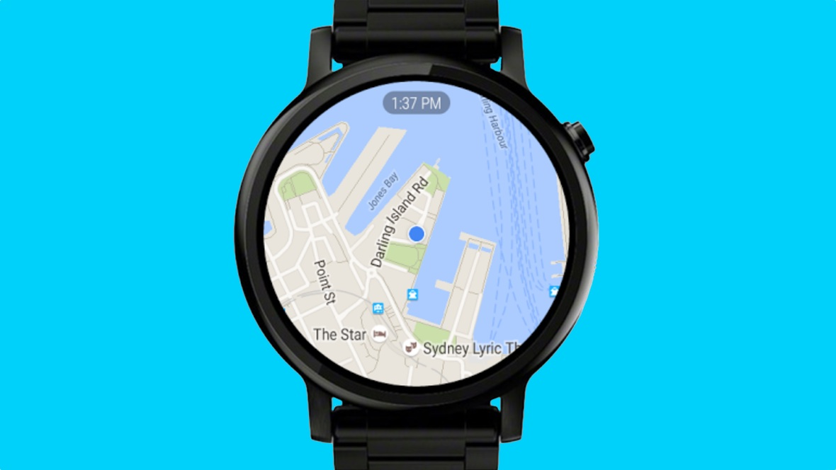 How to use Google Maps on Wear OS