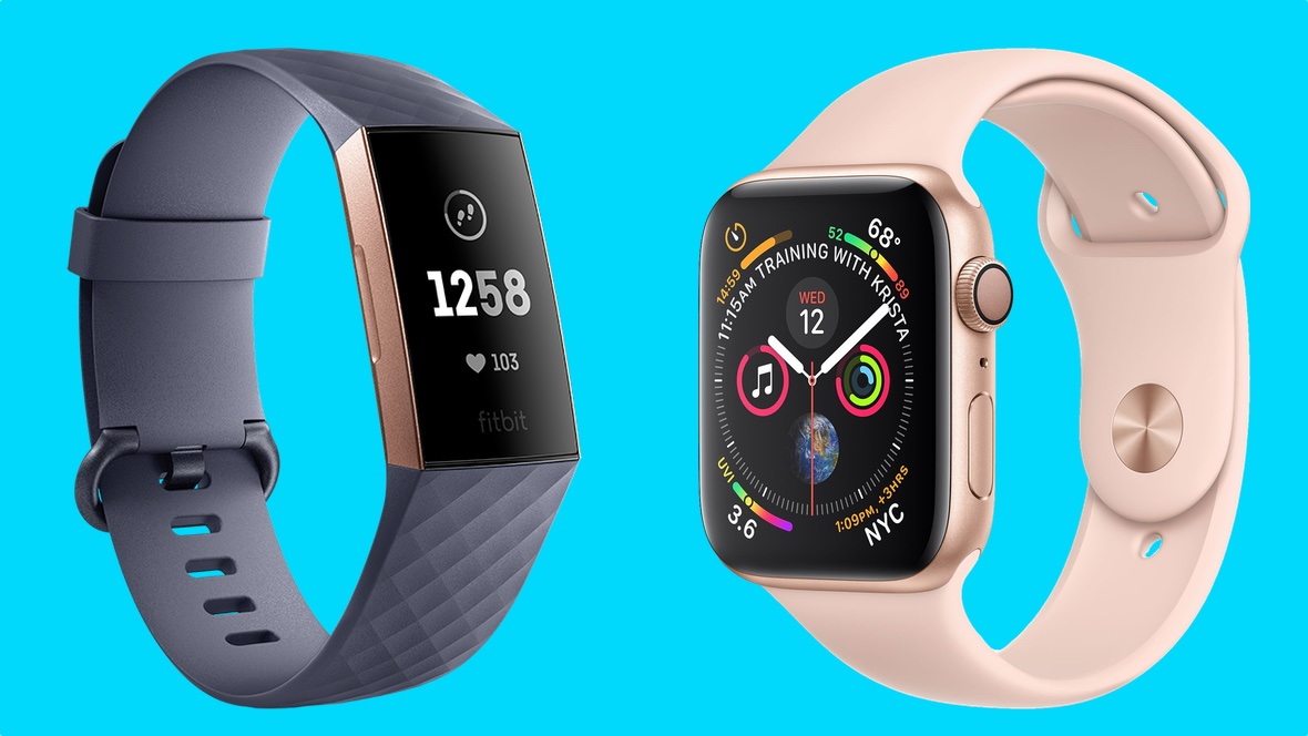 Apple Watch Series 4 v Fitbit Charge 3
