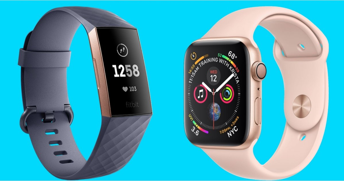 Apple Watch Series 4 v Fitbit Charge 3: The popular wearables square off