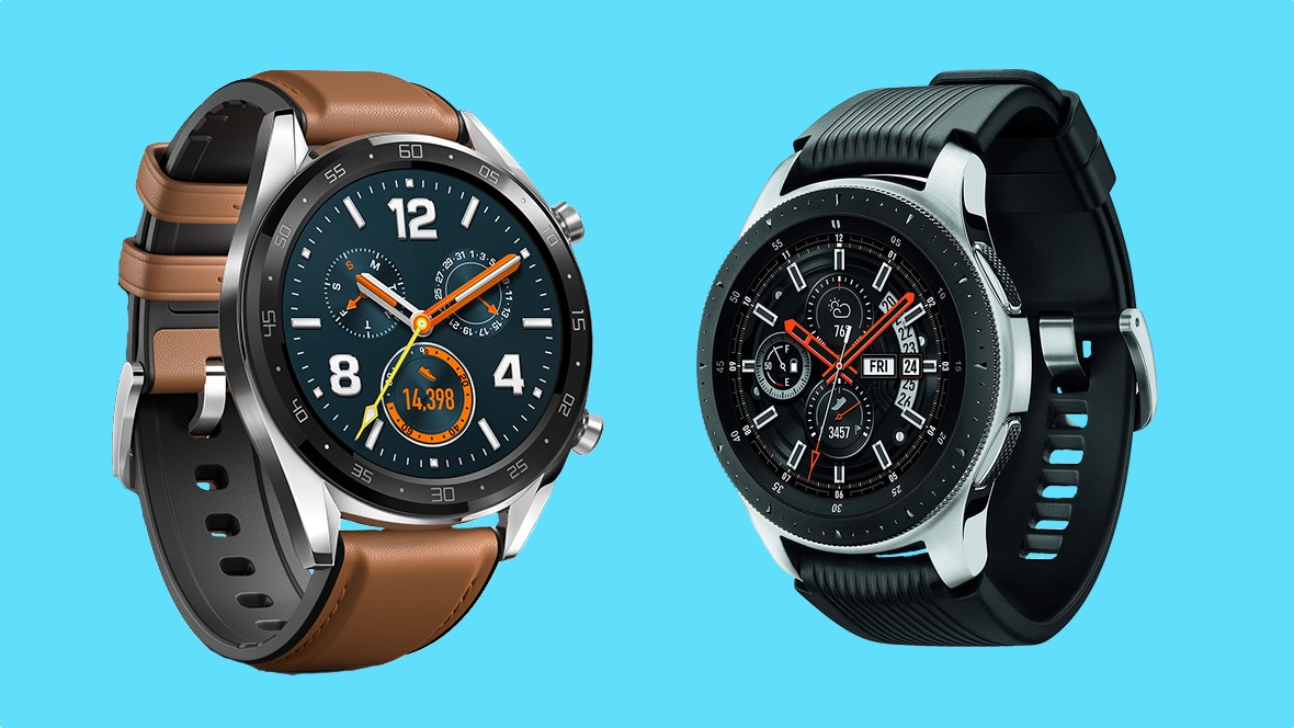 Huawei Watch GT v Galaxy Watch