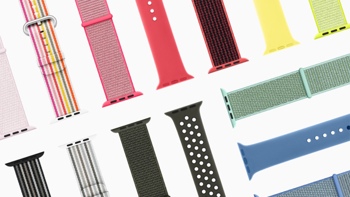 Apple Music comes with these Watch straps
