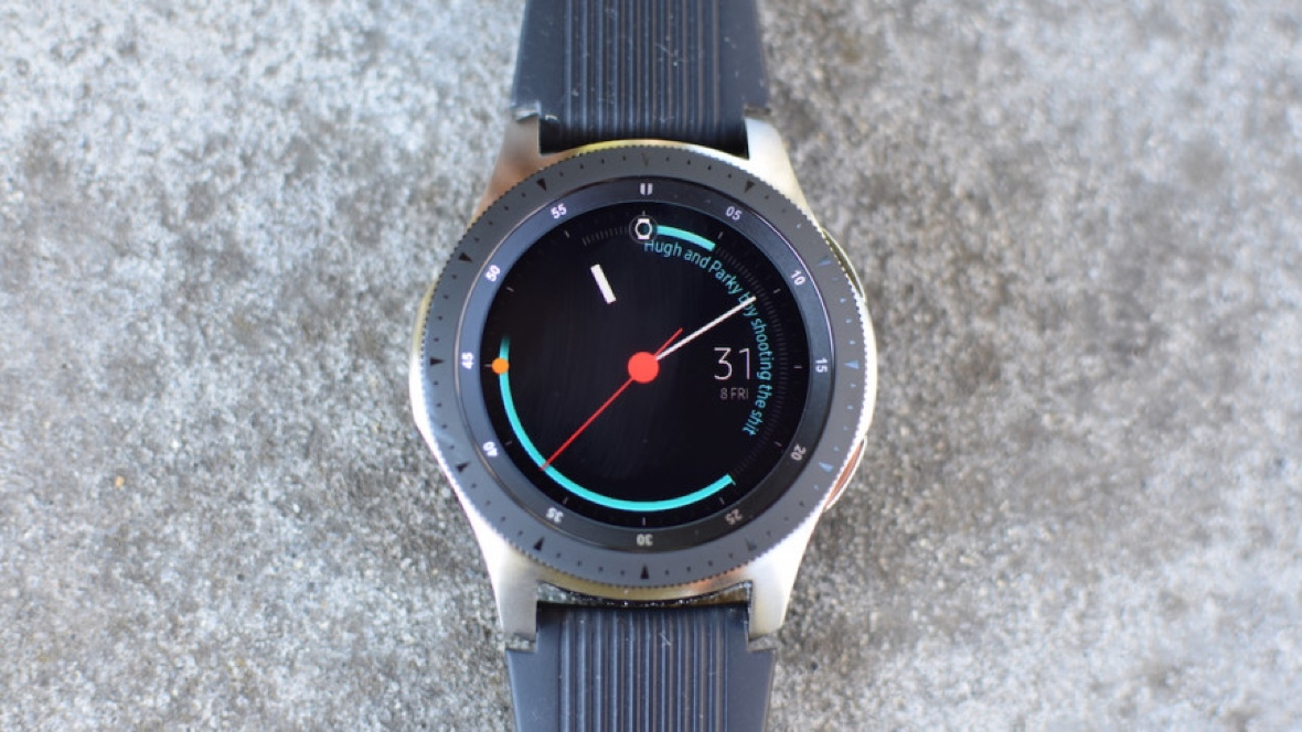 Samsung's next watch may scan your finger