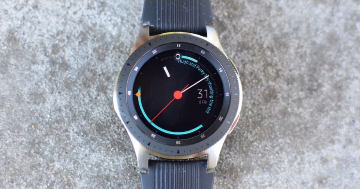 The Samsung Galaxy Watch 2 may have a fingerprint scanner built into the screen