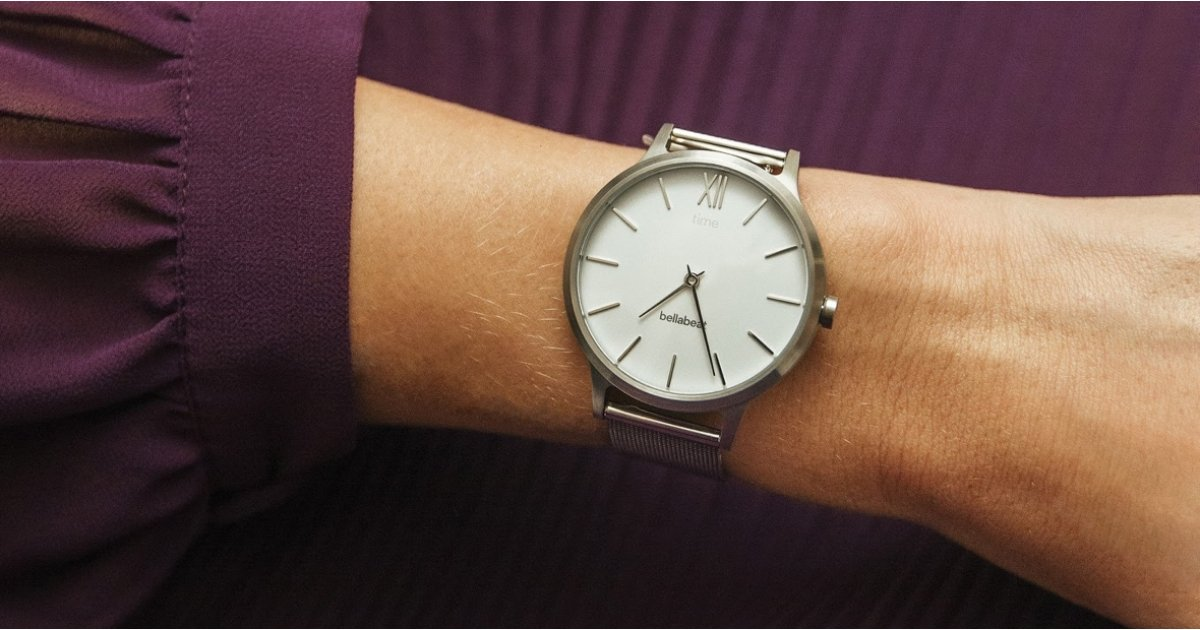 Bellabeat Time puts women's health tracking features inside of an elegant hybrid