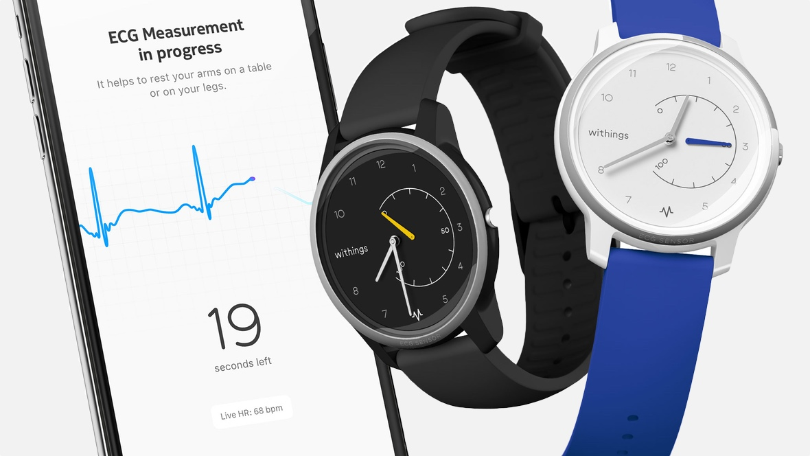 Withings Move ECG on sale in Europe