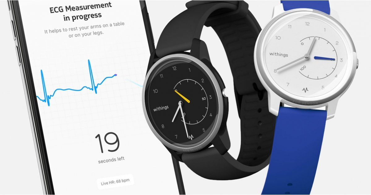Withings Move ECG is the first hybrid to measure clinical-grade heart rate data