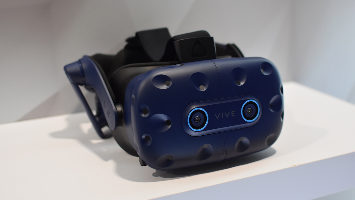 HTC Vive Pro Eye adds eye tracking