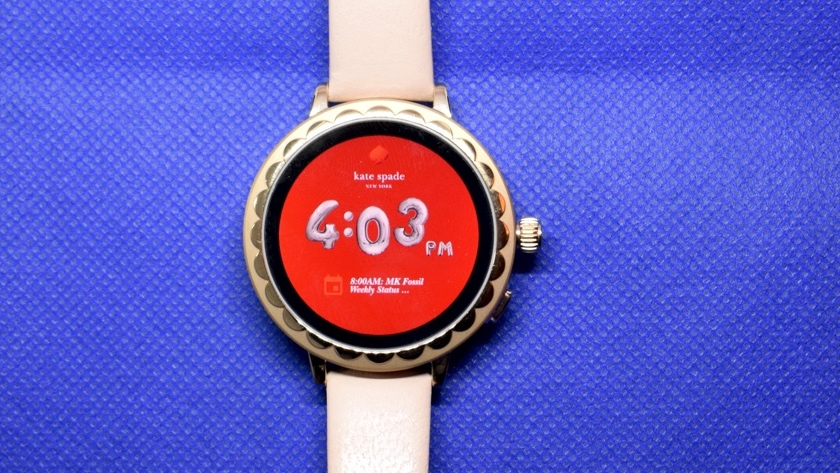 low priced d6a38 d42bc Kate Spade Scallop Smartwatch 2 first look: Wear watch gets Google ...