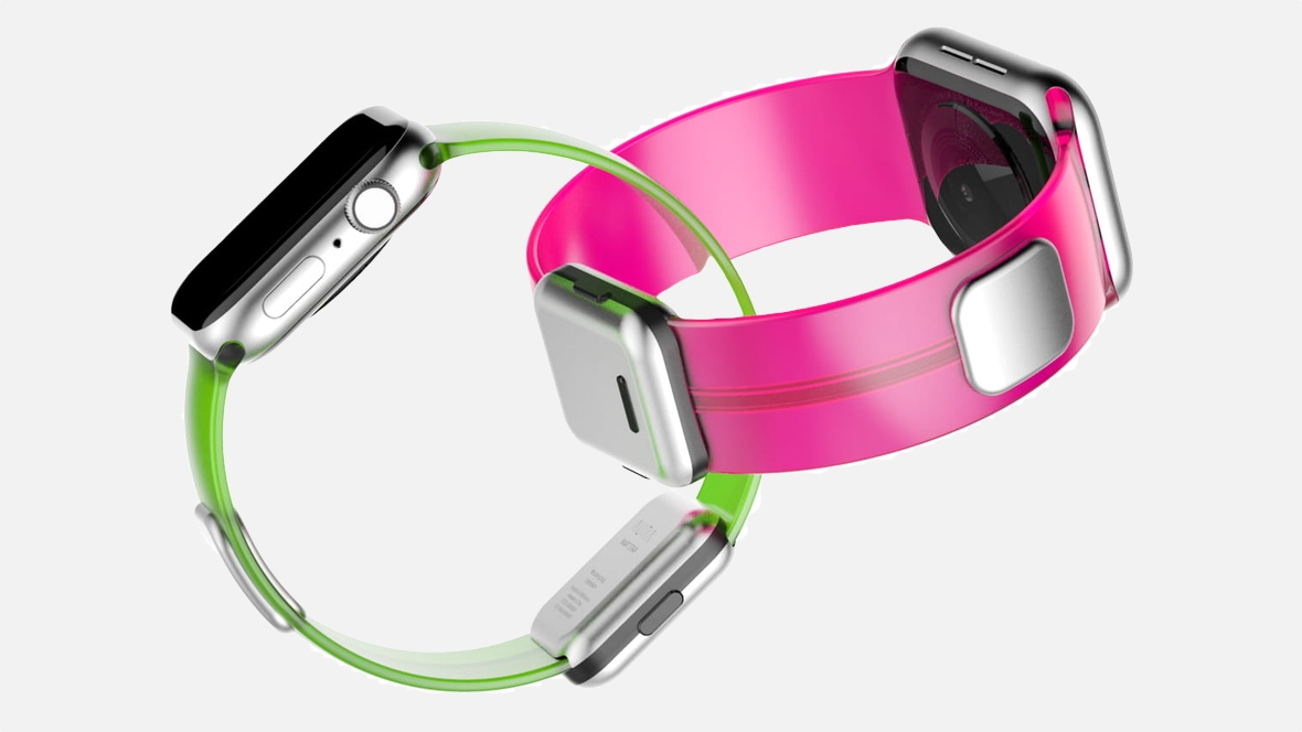 Aura Apple Watch strap tracks hydration