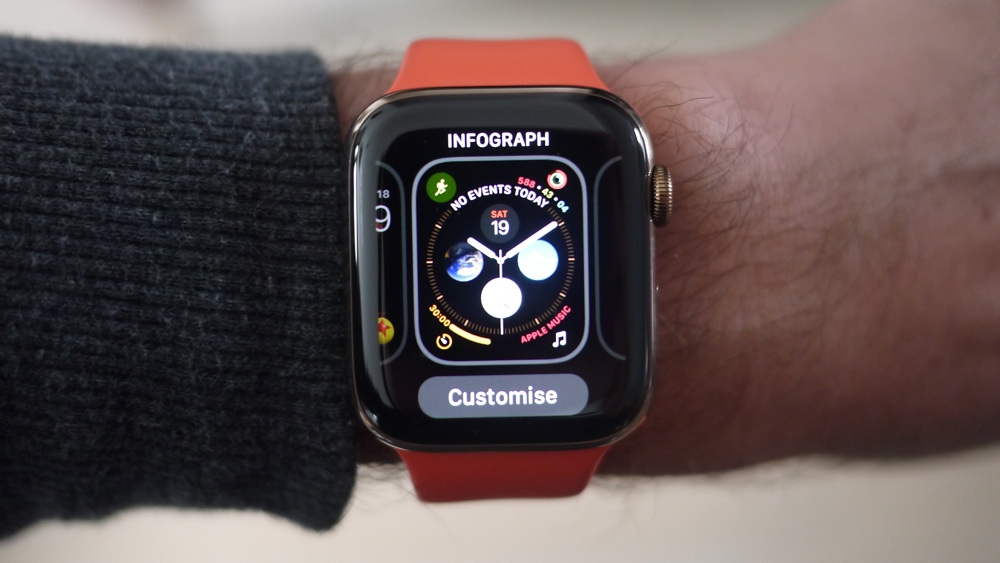 How to change your Apple Watch face