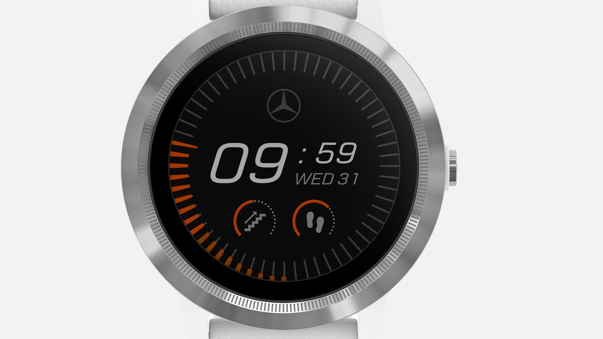 Garmin's connected wearable car plans