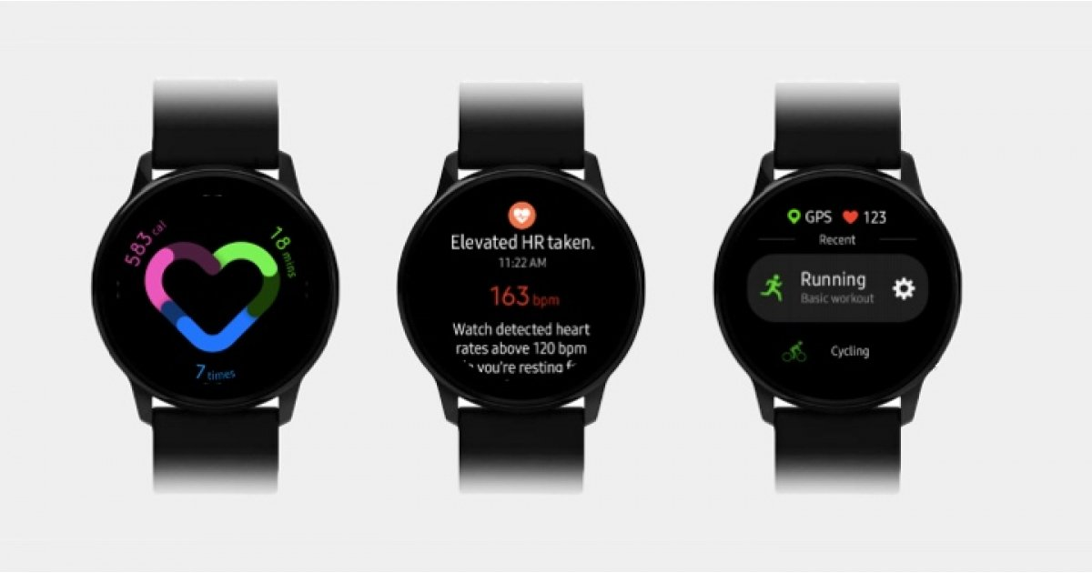 Samsung Galaxy Watch Active's answer to Apple Watch Activity Rings shown off