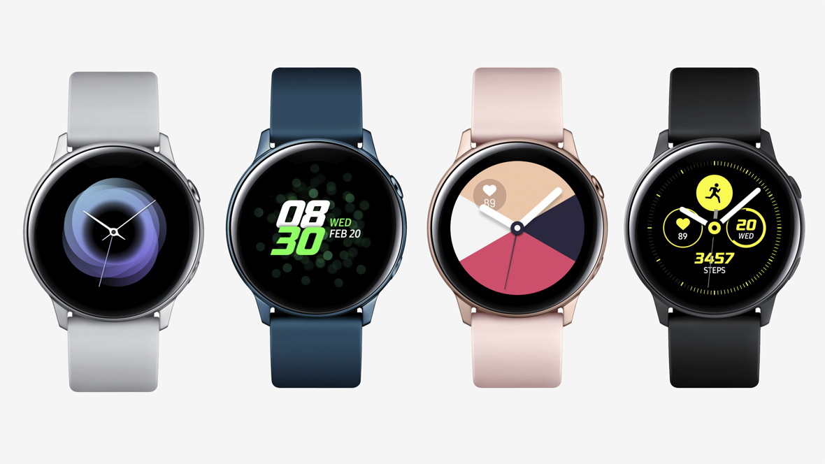 Samsung reveals Galaxy Watch Active
