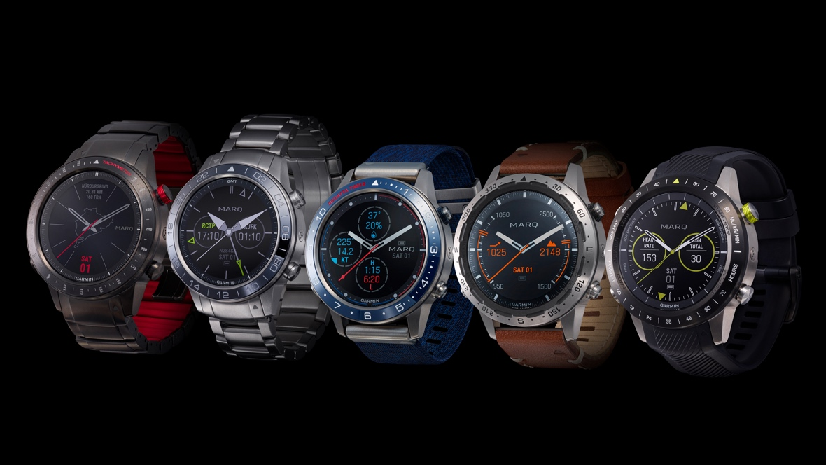Garmin unveils luxury Marq collection