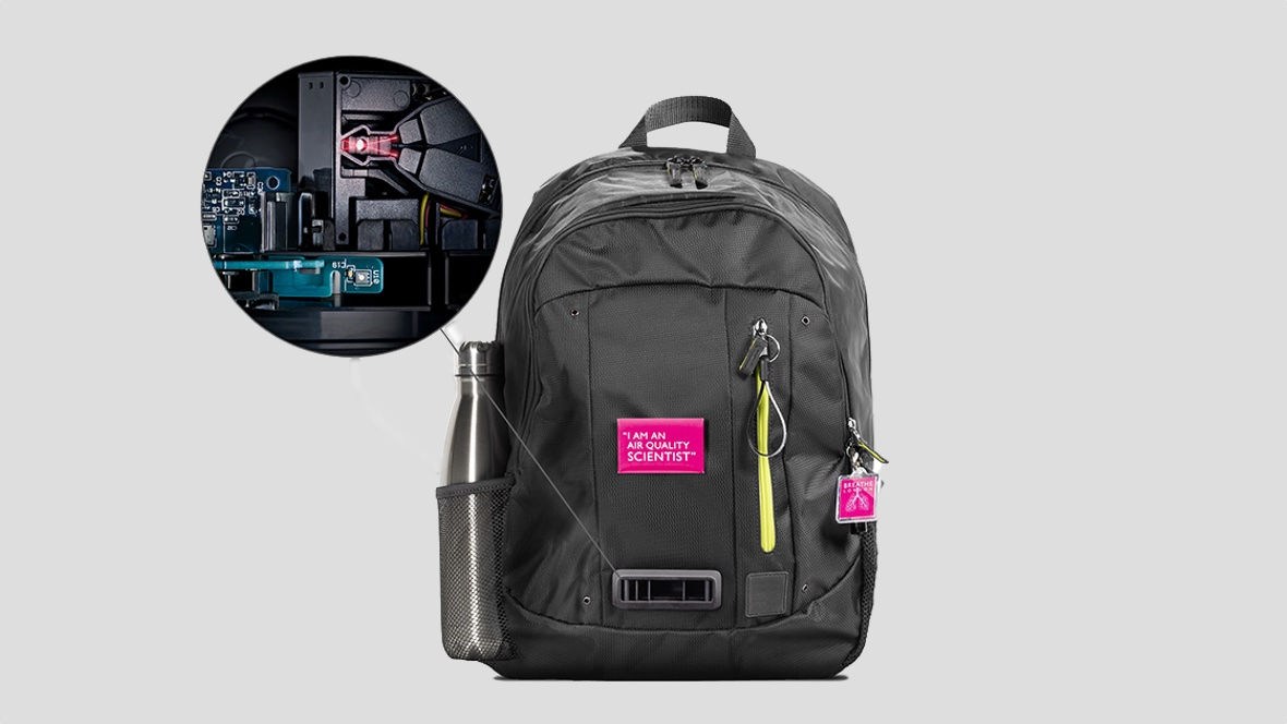 Dyson's backpack will measure air quality