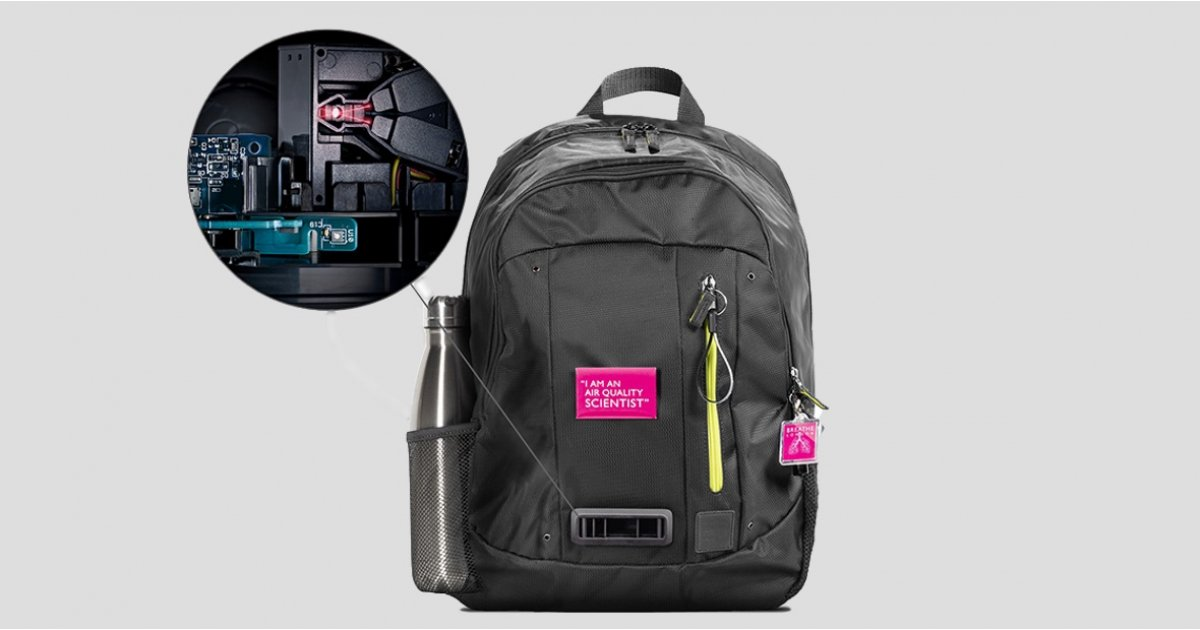 Dyson's new backpack will measure London air quality