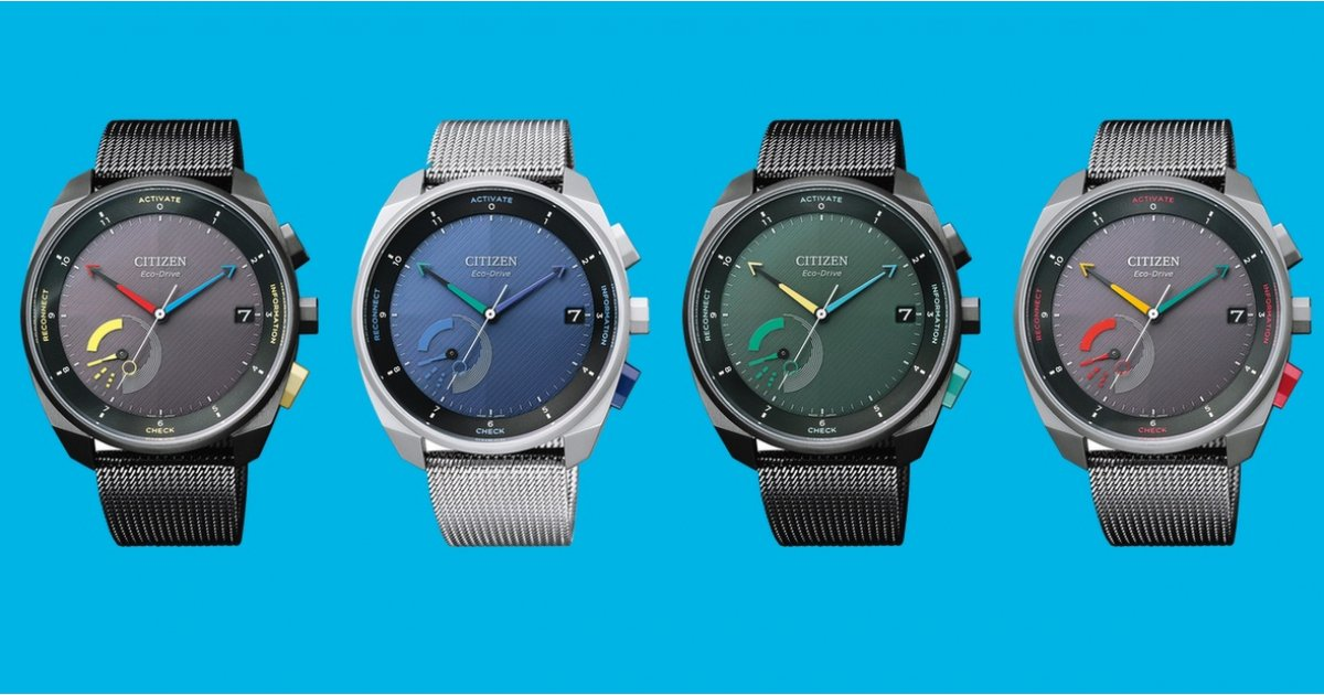 Citizen's Eco-Drive Riiiver is a hybrid smartwatch with IFTTT-like powers