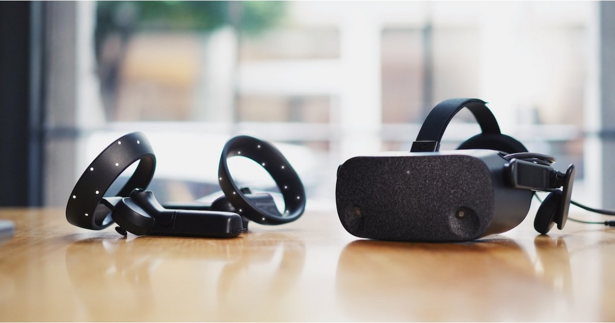 HP's new Reverb VR headset has a lightweight design and high resolution