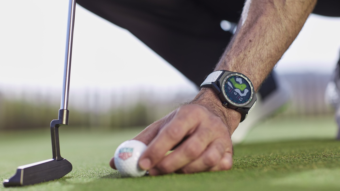 Tag Heuer smartwatch gets a golf makeover