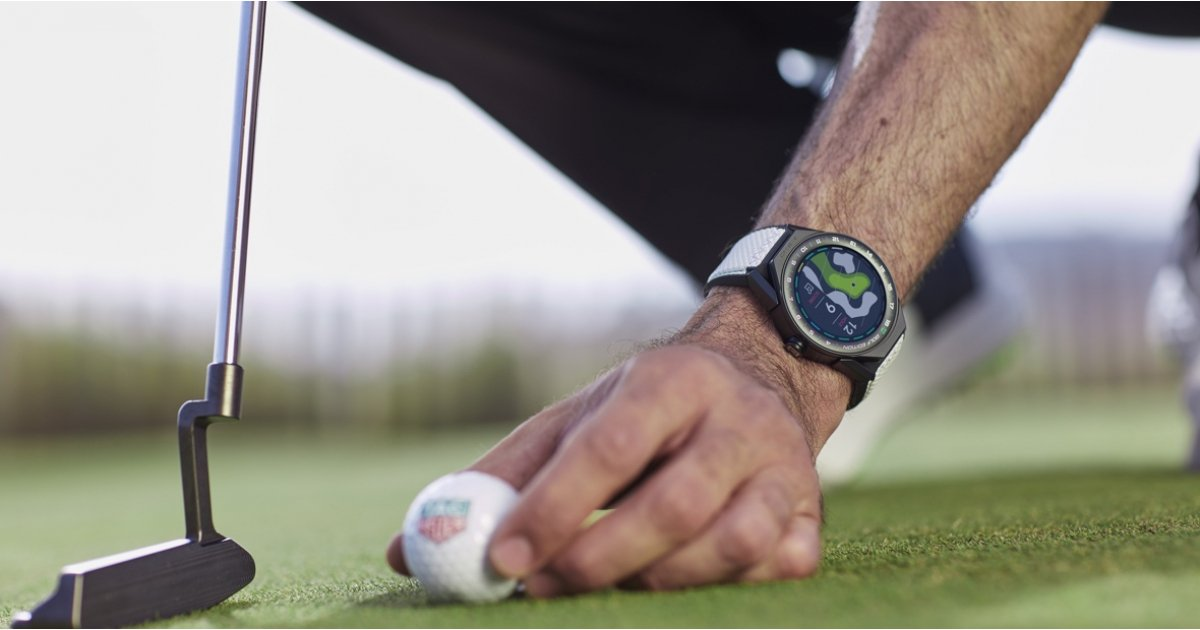 Tag Heuer has made a golf edition of its Connected Modular 45 smartwatch