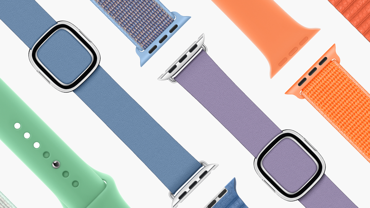 There's new Apple Watch bands for spring