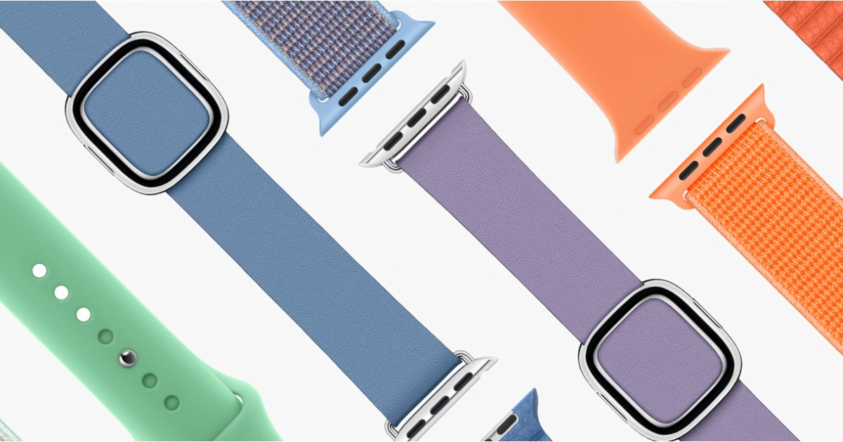 Apple refreshes entire lineup of Watch bands with new spring colors